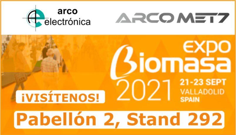 Arco Electrónica en ExpoBiomasa 2021