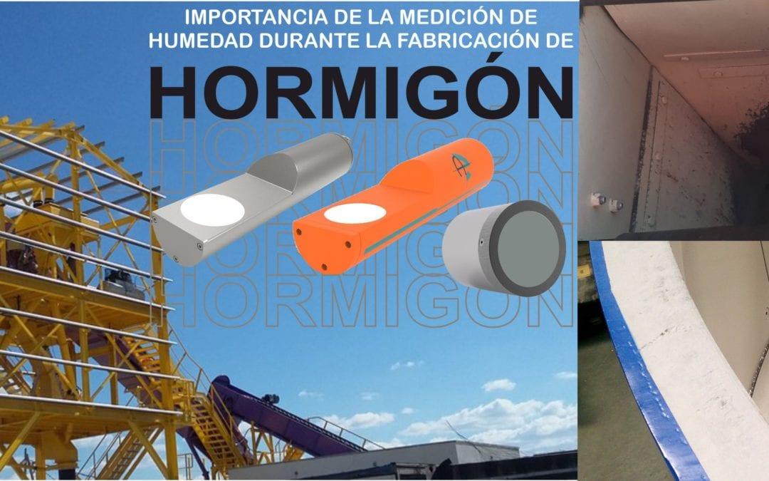 Importancia de la medición de humedad en la fabricación de hormigón / prefabricado.